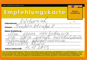 Empfehlung einkaufen Berlin Schöneberg City West Dessous Bademoden exklusive Damenunterwäsche - quopper Stadtinformation
