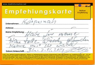 Empfehlung einkaufen Berlin City West Dessous Bademoden exklusive Damenunterwäsche - quopper Stadtinformation