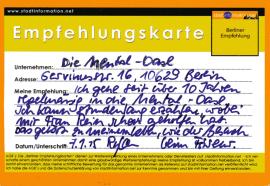 Kinesiologie Gesundheitscoaching Ernährungsberatung Allergietest Mentaltraining Berlin Charlottenburg Wilmersdorf