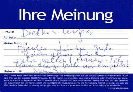 empfehlung physiotherapie berlin