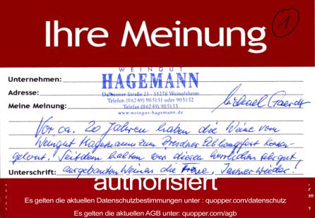 Rheinhessenqualität im Glas Wein aus Erzeugerland Winzerfamilie