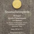 Staatsehrenpreis Wein Rheinhessen